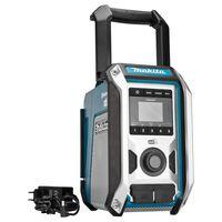 Makita Bluetooth-Radio DAB Schwarz und Blau