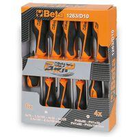 Beta Tools 10-tlg. Schraubendreher-Satz 1263/D10 Stahl 012630010