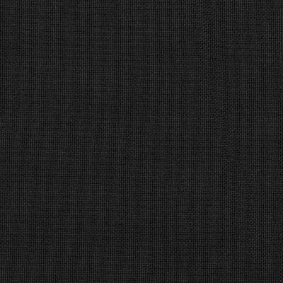 vidaXL Verdunkelungsvorhänge Ösen Leinenoptik 2 Stk. Schwarz 140x245cm, Schwarz