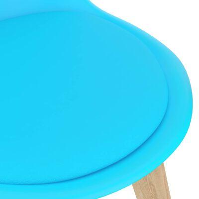 vidaXL 5-tlg. Essgruppe Blau