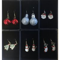 Victoria's Design Ohrring Weihnachten Weihnachtsstrumpf