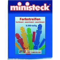 Ministeck - Farbstreifen Sortiment – 9500st - Mosaiksteine
