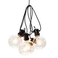 KONSTSMIDE Party-Lichterkette mit 10 Glühbirnen Extra-Warm