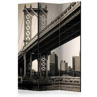 3-teiliges Paravent - Manhattan Bridge, New York  - 135x172 cm