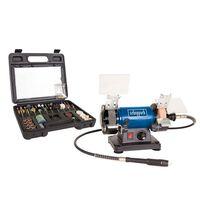 Scheppach Schleifmaschinen-Set HG34 120 W 75 mm 5903106901