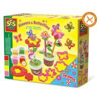 SES Creative-Lehm-Duftende Blumen und Schmetterlinge