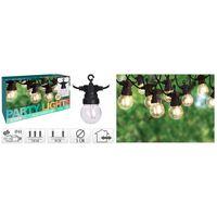 ProGarden LED Garten-Lichterkette 10 Lampen 24V