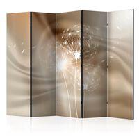 5-teiliges Paravent - Solar Illusion II  - 225x172 cm