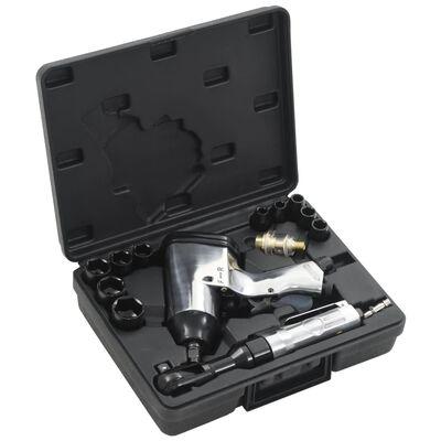 """vidaXL 16-teiliges Druckluftwerkzeug-Set 1/2"""""""