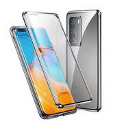 Huawei P40 Pro Handyhülle Magnetisch Glas/silber