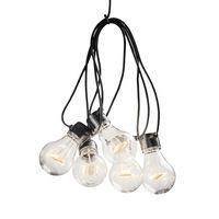 KONSTSMIDE Party-Lichterkette 10 Lampen Startset Extra-Warm