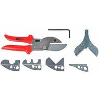 KS Tools Scheren-Satz für Schläuche und Kunststoffrohre 123.0075