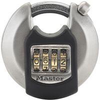 Master Lock Disc Schloss Excell Edelstahl 70 mm M40EURDNUM
