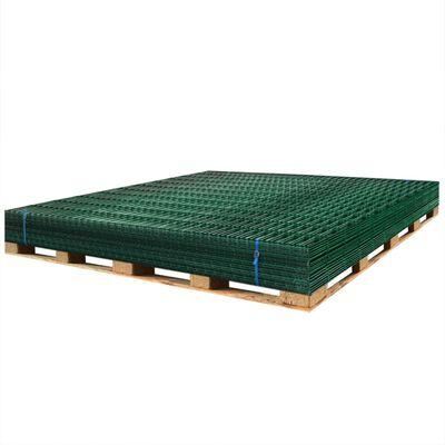 vidaXL 2D Gartenzaun-Elemente 2,008x1,83 m Gesamtlänge 40 m Grün