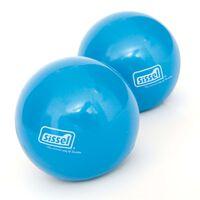 Sissel Gewichtsbälle Toning Ball 2 Stk. 450 g Blau SIS-310.037