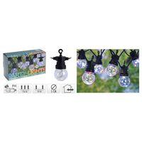 ProGarden LED Garten-Party-Lichterkette 50 Lampen Mehrfarbig