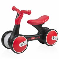 Billy Balance Bike Lima Rot und Schwarz BLFK008-RDBK