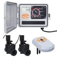 vidaXL Bewässerungssteuerung mit Feuchtigkeitssensor und Magnetventil