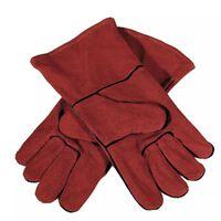 GYS Multifunktionale Handschuhe Leder Rot