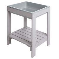 roba Garten-Spieltisch 38x32x50 cm Grau