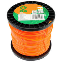FLO Mähfaden Extranyl 2,4 mm 90 m Orange
