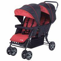 Safety 1st Tandem-Kinderwagen Teamy Rot 1151668000