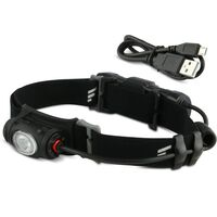 FAVOUR Stirnlampe PROTECH Schwarz H0917