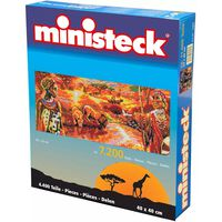 Ministeck - Serengeti – 7200st - Mosaiksteine
