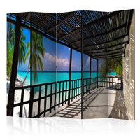 5-teiliges Paravent - Carefree Paradise II  - 225x172 cm