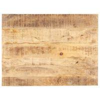 vidaXL Tischplatte Massivholz Mango 15-16 mm 90x70 cm