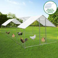 Hühnerfreilauf Hühnergehege Auslauf Outdoor-hühnerkäfig Uv Geflügel