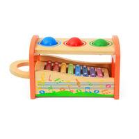 Holz Xylophon Und Hammer Spielzeug | Musical Spielzeug Für