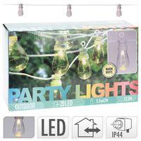 ProGarden LED Party-Lichterkette 20 Leuchtmittel 12V