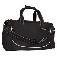 Avento Mittelgroße Sporttasche schwarz 50TD