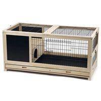 Beeztees Indoor-Kaninchenkäfig Jez Holz 116x54x55,5 cm