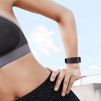 Fitbit Charge 3/4 Armband Silikon Schwarz (s)