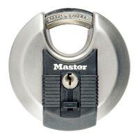 Master Lock Discus Schloss Excell Edelstahl 70 mm M40EURD