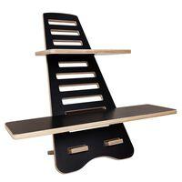 Getuppah Effizient Und Ergonomisch Sitz-steh Schreibtisch