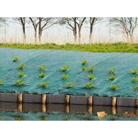 Nature Unkrautschutz-Bodengewebe 2,1x 25 m Grün
