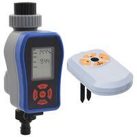 vidaXL Digitale Bewässerungsuhr mit Einzelauslass und Feuchtigkeitssensor