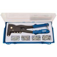 Draper Tools Nietpistolen-Set Blau 27843