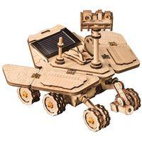 Robotime Solarbetriebenes Spielzeugauto Bausatz Vagabond Rover
