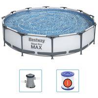 Bestway Steel Pro MAX Swimmingpool-Set 366x76 cm