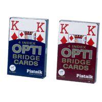 Pokerkarten Piatnik Opti 4H Assorted