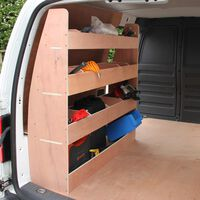 Monster Racking Fahrzeugeinrichtung Fahrzeugausbau Autoregal VW Caddy