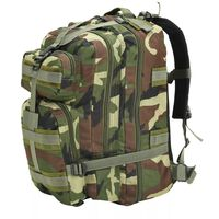 vidaXL Rucksack Armee-Stil 50 L Camouflage