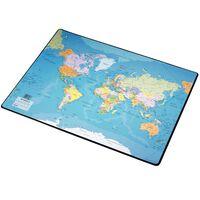 Esselte Schreibtischunterlage Weltkarte 41x54 cm