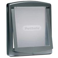 PetSafe 2-Wege-Haustierklappe 777 Groß 35,6x30,5 cm Silber 5025