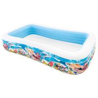 Intex Swim Center Familienpool 305x183x56 cm Meerestiere-Design