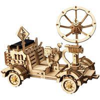Robotime Solarbetriebenes Spielzeugauto Rambler Rover